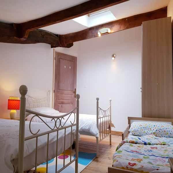 Bedroom in La Verre