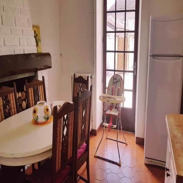 Dining Room in La Ferme