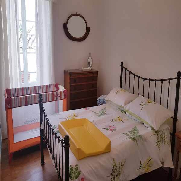 La Ferme Bedroom